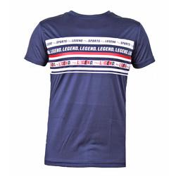 Slim-fit T-Shirt DriFit blauw Legend