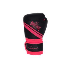 """Ernesto Hoost """"Kickboxing"""" Handschoenen PU - Zwart/Roze"""
