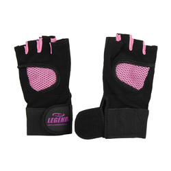 Fitness Handschoenen Legend Mesh zwart/roze