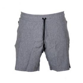 Trendy Casual kort broek melage grijs