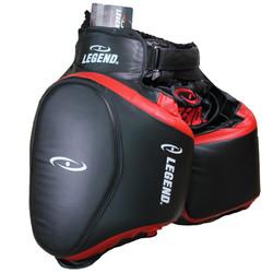 Leg Protector Black Red
