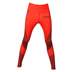 Legend dames sport legging Rood