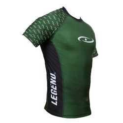 Dryfit sportshirt - Rash guard army green