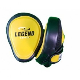 Legend Lederen Focus Pads Heavy Duty Gel Geel
