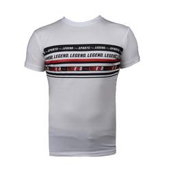 Slim-fit T-Shirt Wit Legend Sports