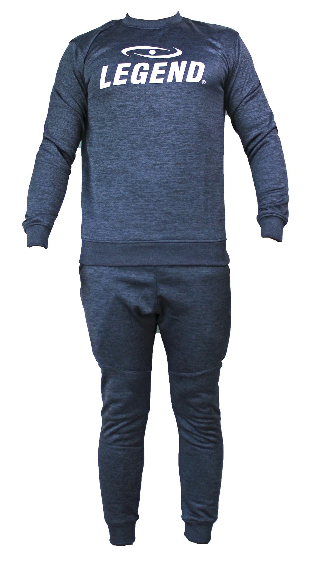 Joggingpak dames/heren met trui/sweater Navy Blauw