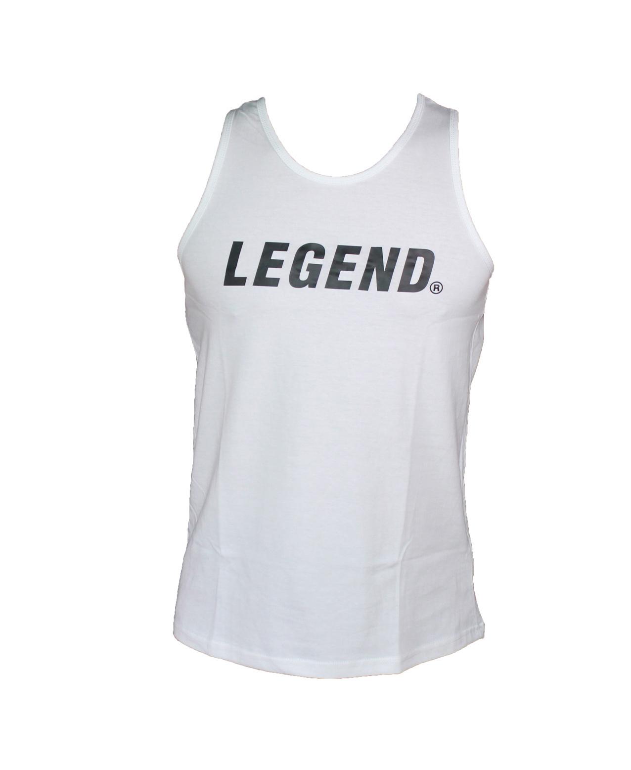 Tank Top heren wit Legend