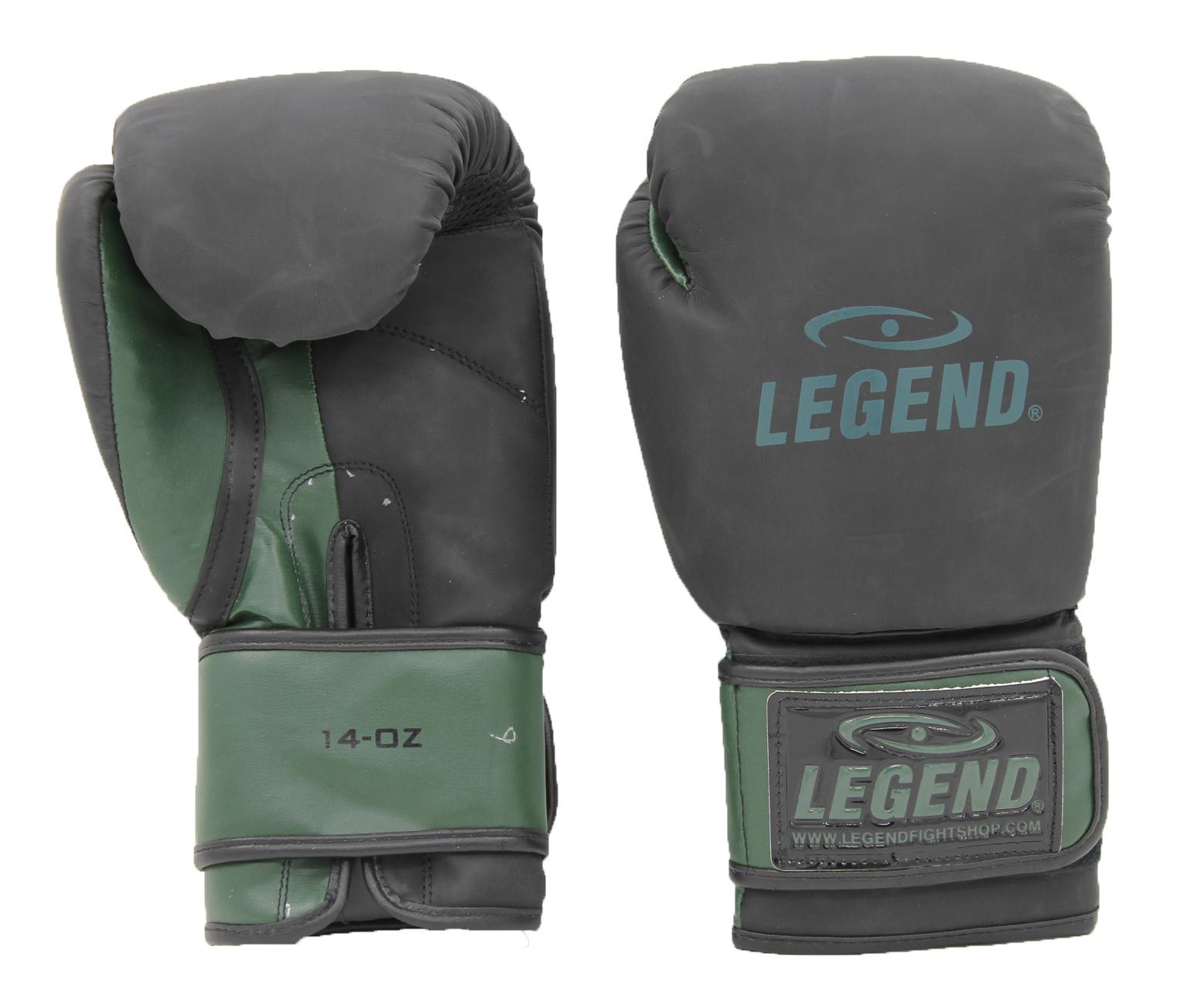 Bokshandschoenen LegendDry & Protect Mat zwart/Army