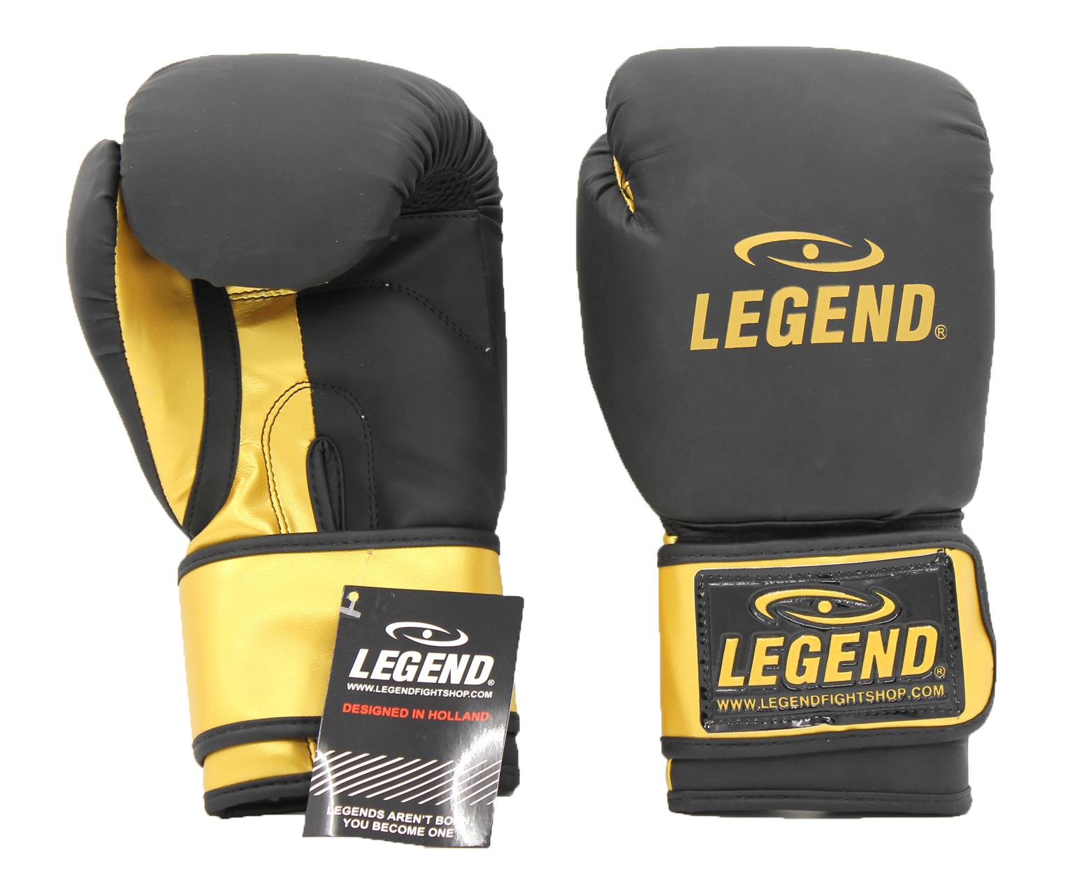 Bokshandschoenen LegendDry & Protect Mat zwart/Goud