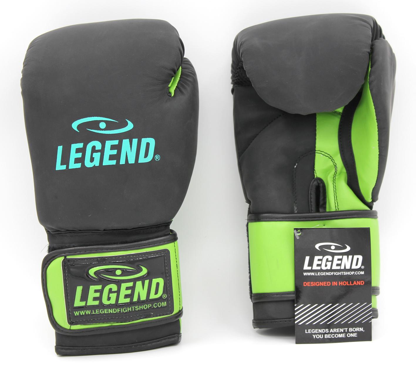 Bokshandschoenen LegendDry & Protect Mat zwart/groen