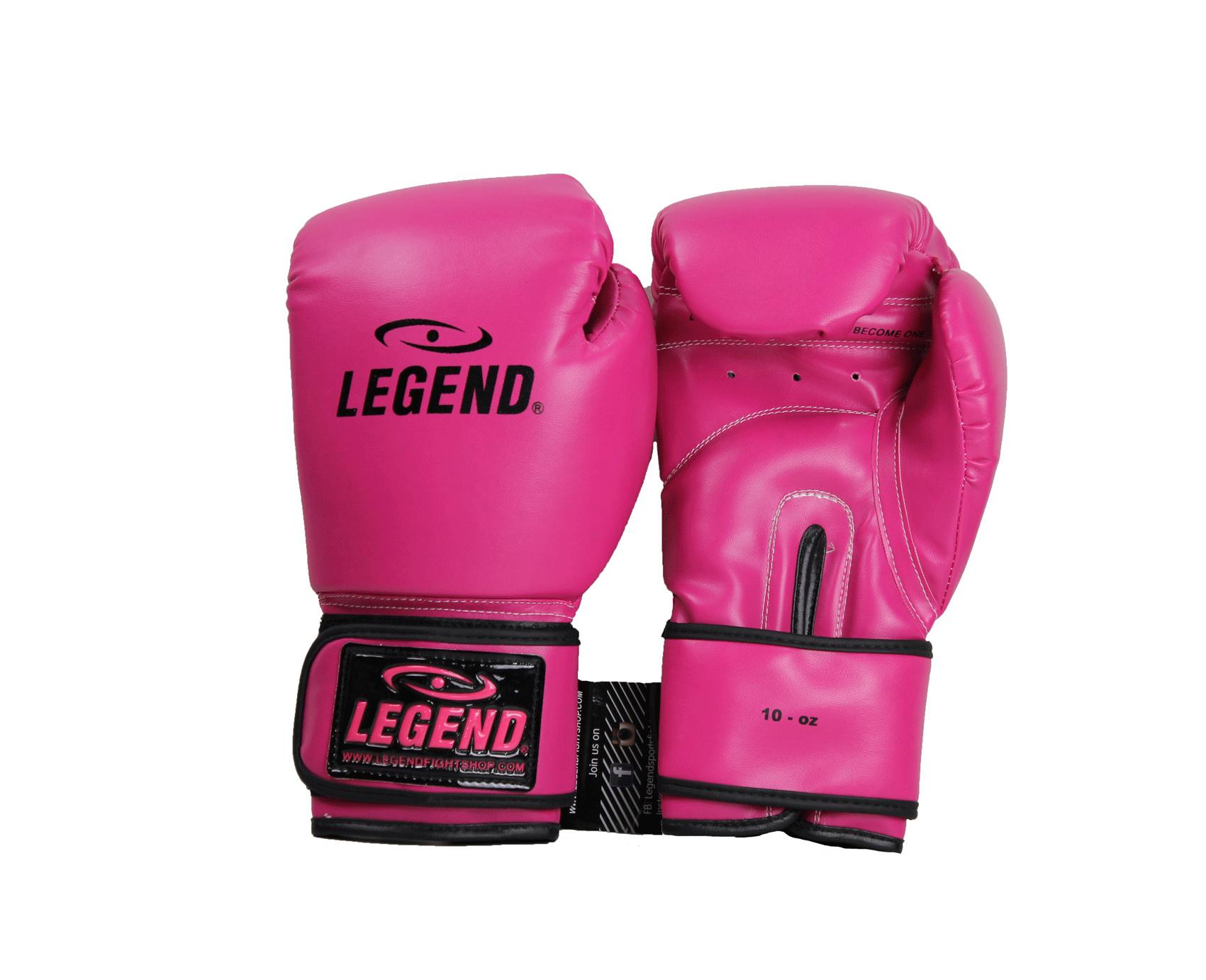 Bokshandschoenen kind 2OZ Neon Pink