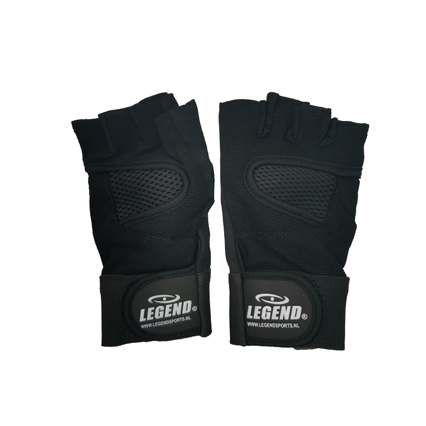 Fitness Handschoenen Legend Mesh zwart