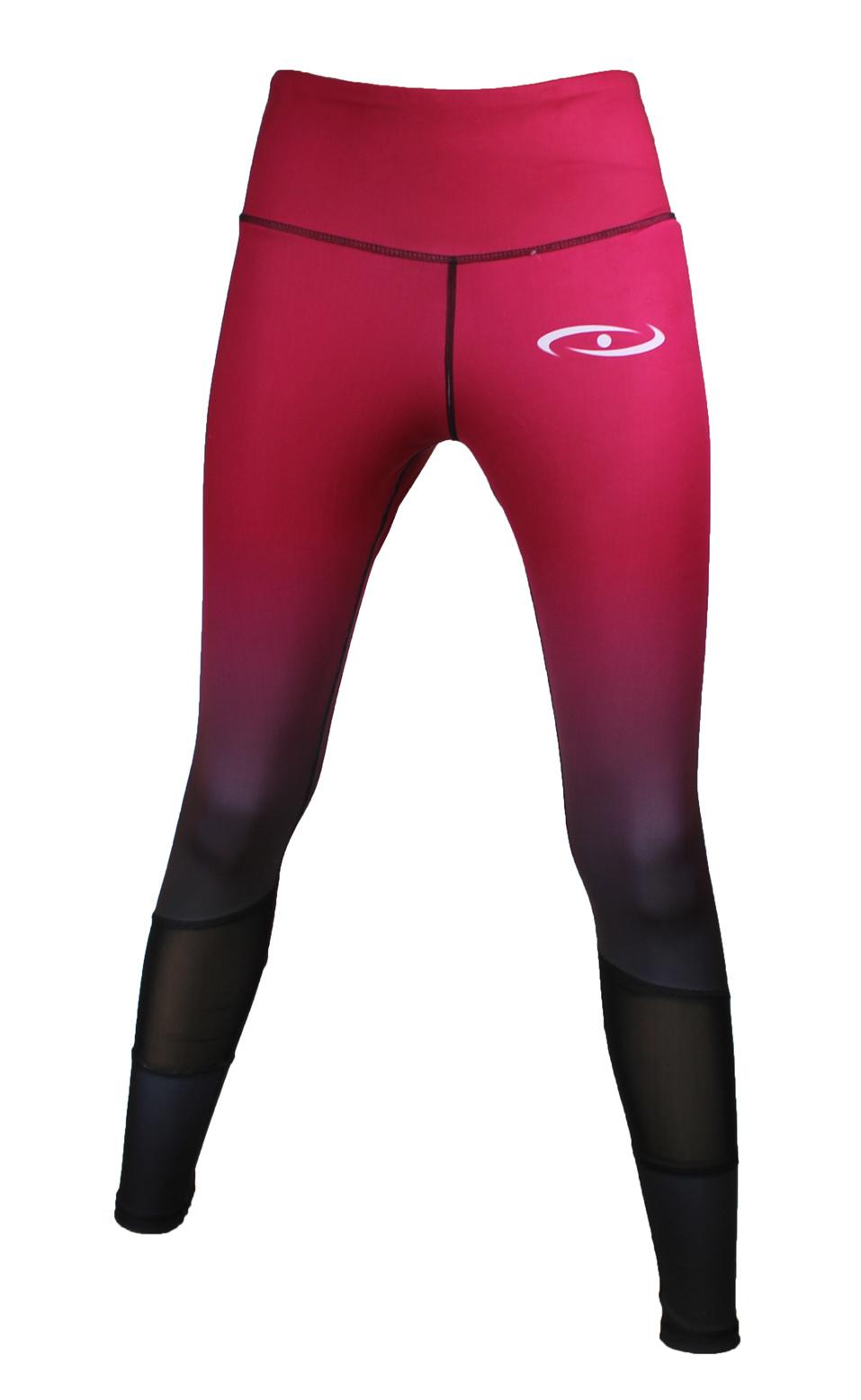 Sportlegging dames Legend Crimson rood