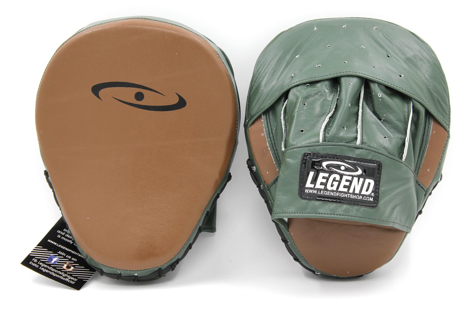 Stootkussen legend pro line focus pads Army/Bruin