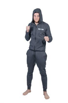 """Trainingspak met hoodie """"Casual"""" Grijs"""
