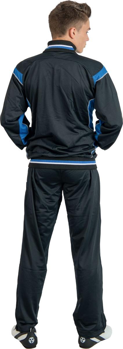 Hayashi Trainingspak Zwart - Blauw