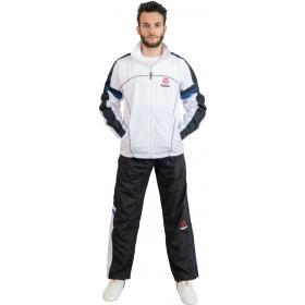 Hayashi Trainingspak met zwarte broek Wit - Blauw
