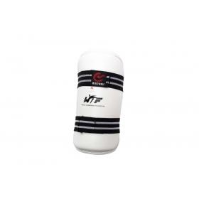 Wacoku Taekwondo Onderarm beschermer (WTF approved) Wit - Zwart