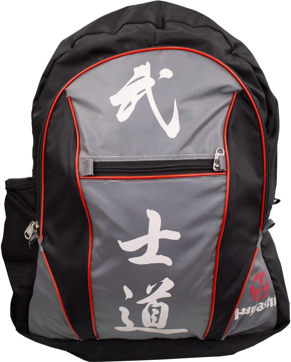 """Hayashi Rugtas """"Bushido"""" Zwart - rood"""