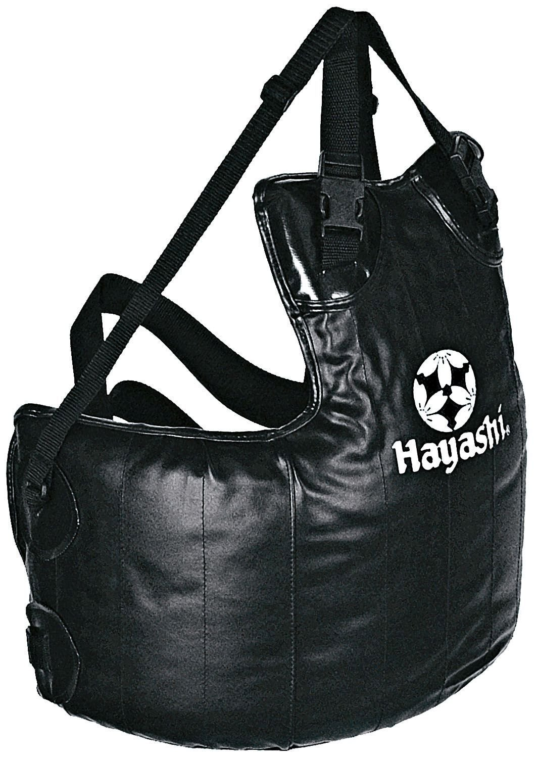 Hayashi Borstbeschermer Free Fight Zwart
