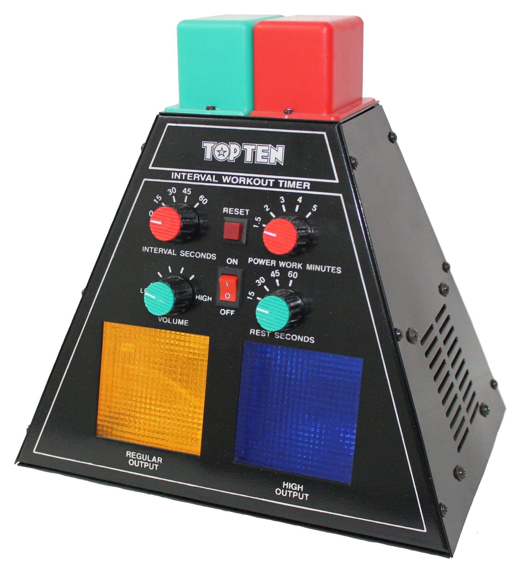 "TOP TEN Sporttimer MMA Timer ""Pyramid"""