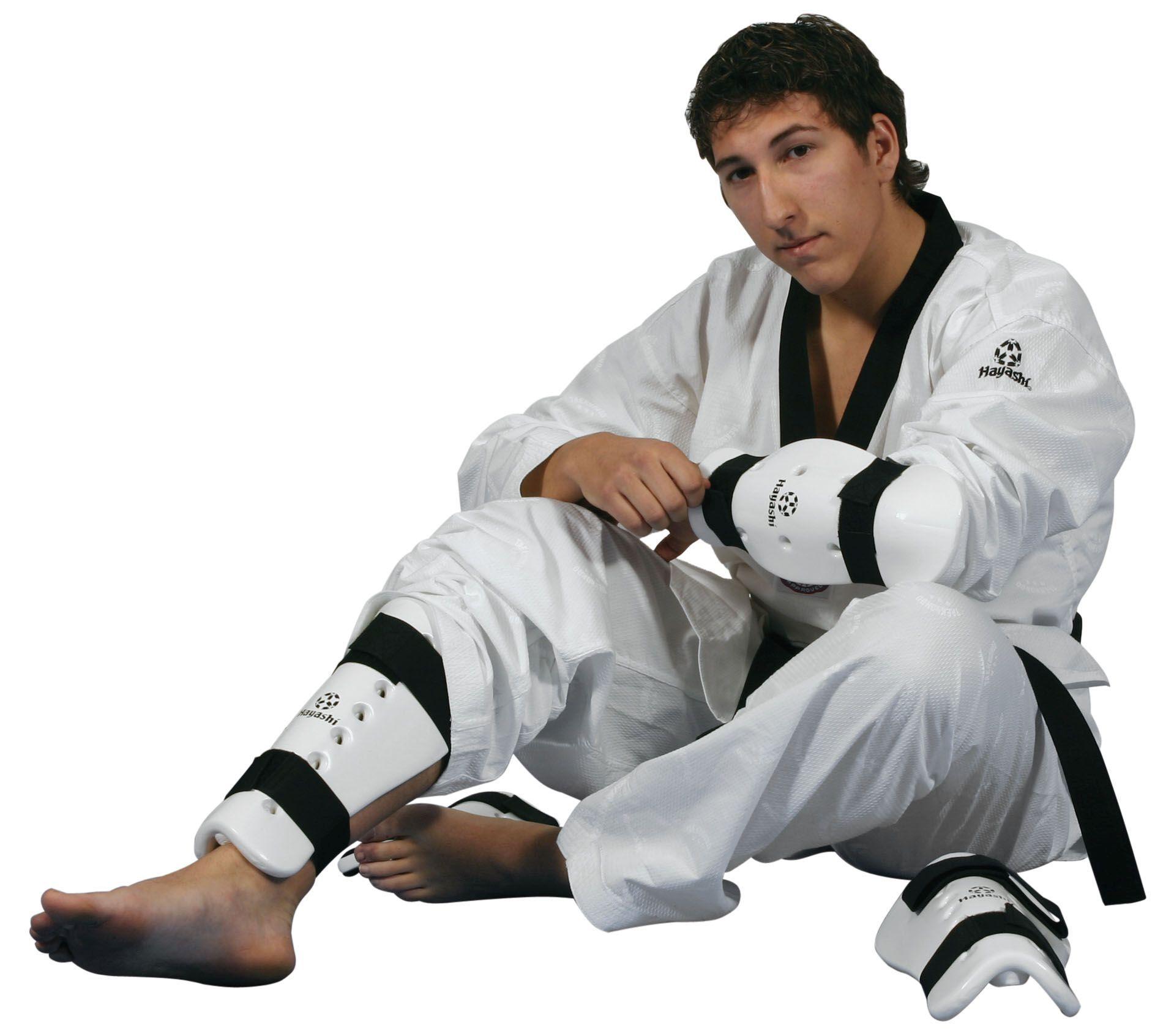 Hayashi Onderarm beschermer Wit