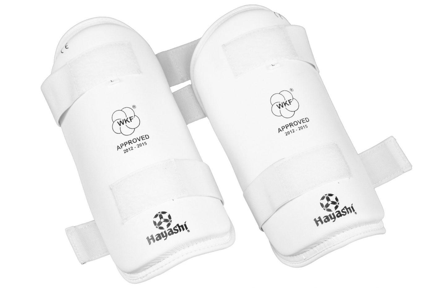 Hayashi Onderarm beschermer (WKF approved) Wit