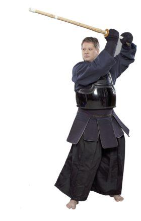 HAKAMA voor Kendo  Aikido Zwart
