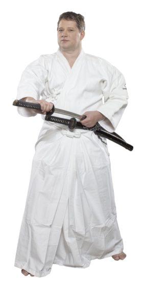 HAKAMA voor Kendo  Aikido Wit