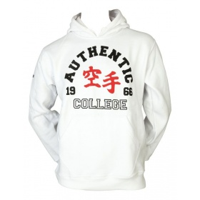 """Hayashi Hoodie """"Authentic Karate College"""" Wit"""