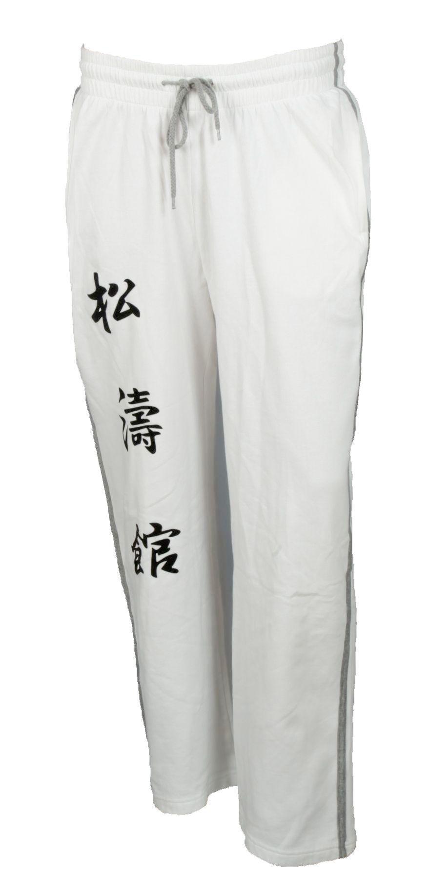 """Hayashi Joggingbroek """"Kanjin"""" Wit"""