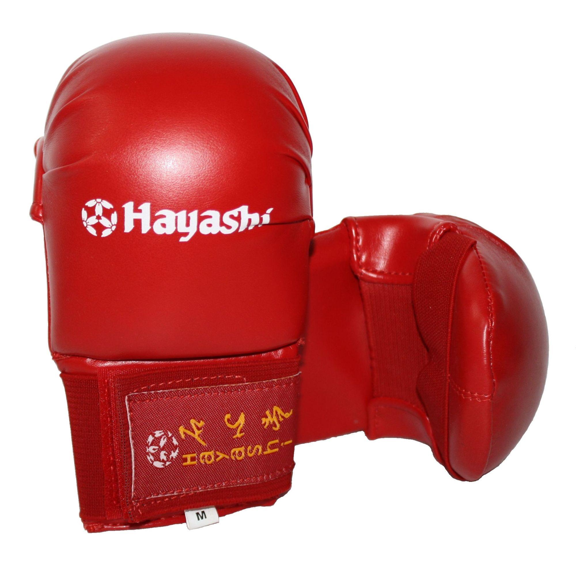 """Hayashi Karate handschoenen """"Tsuki"""" voor trainingsdoeleinden Rood"""