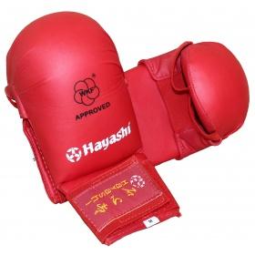 "Hayashi Karate handschoenen ""TSUKI"" (WKF approved) Rood"