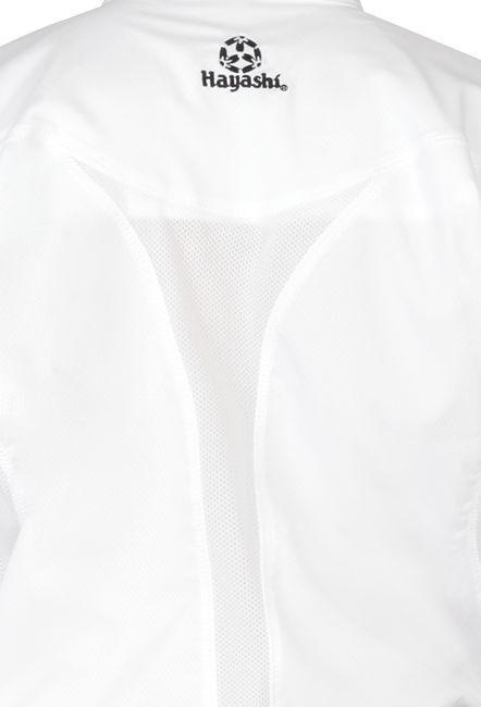 "Hayashi Karatepak ""Champion Flexz"" (WKF approved) Wit - Blauw"