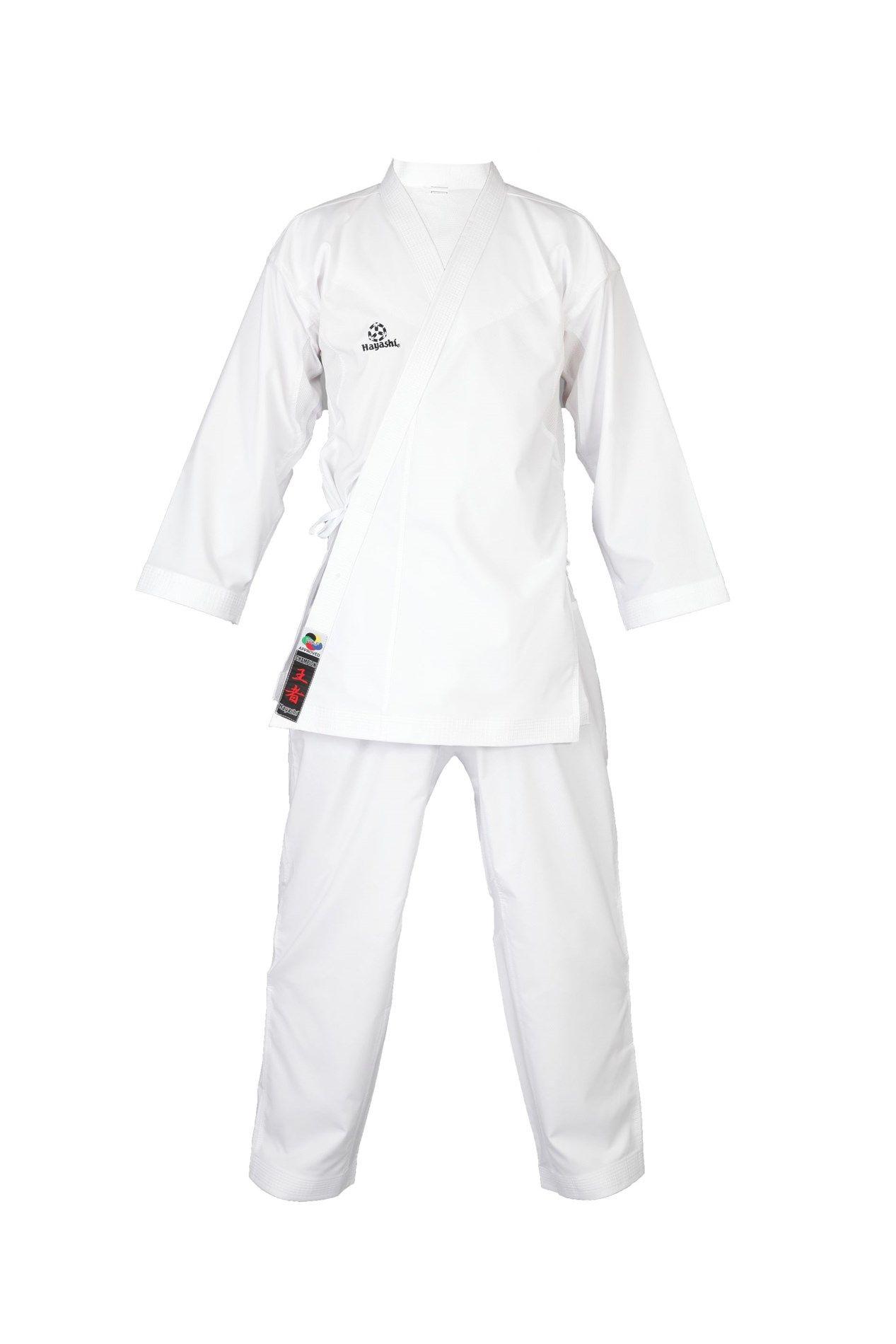 "Hayashi Karatepak ""Champion Flexz"" (WKF approved) Wit"