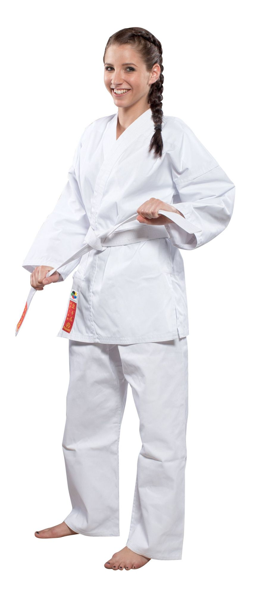"""Karatepak """"HEIAN"""" Wit"""