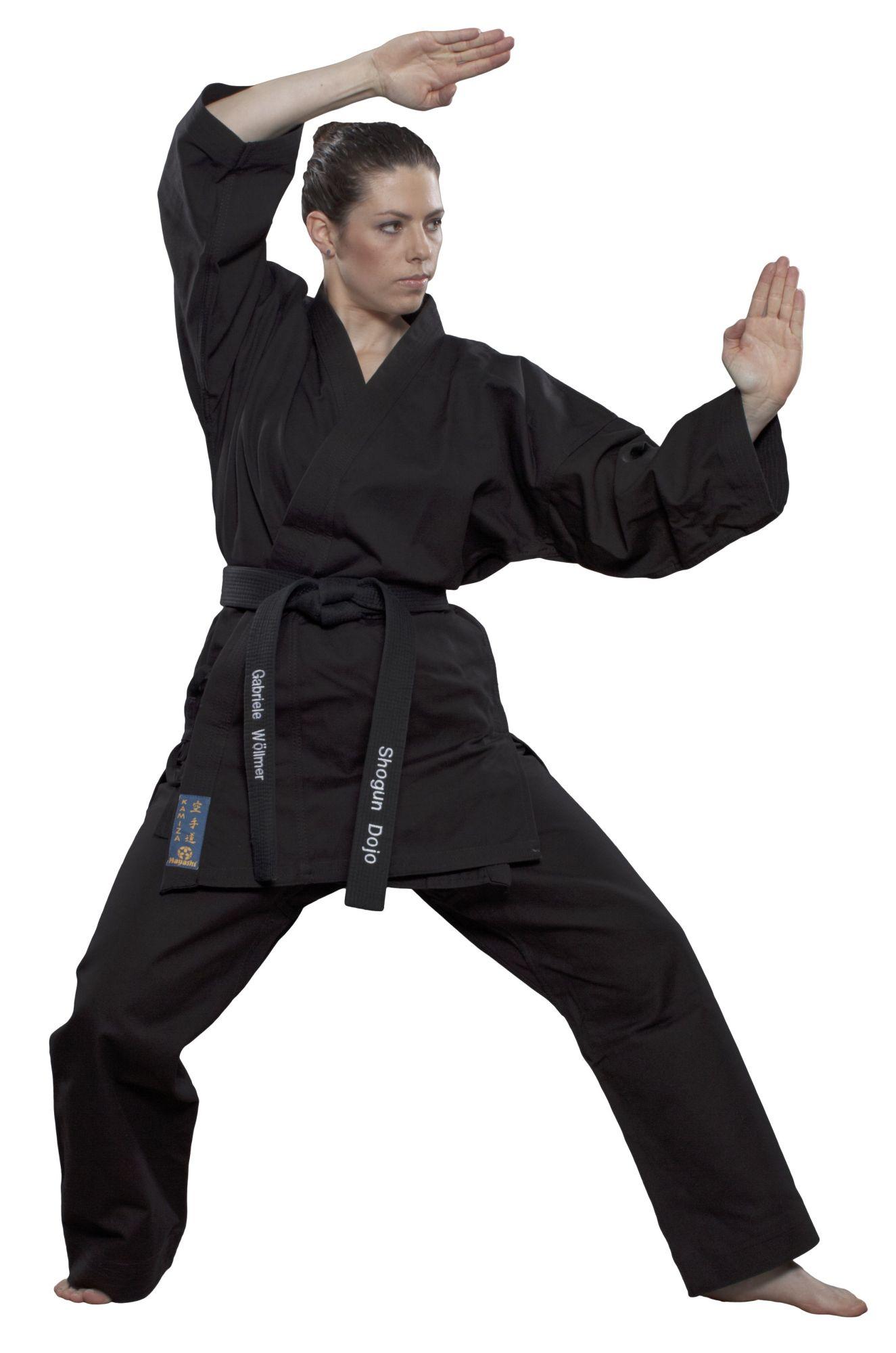 """Hayashi Karatepak """"Kamiza"""" Zwart"""