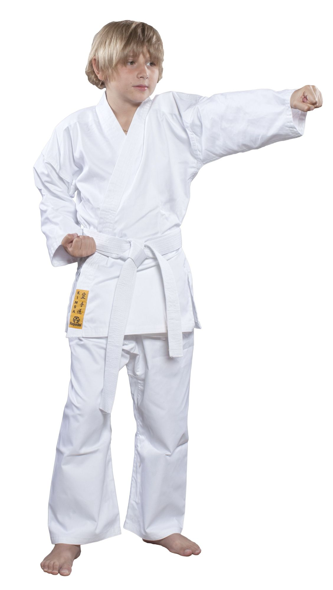 "Karatepak ""KINSA"" Wit"