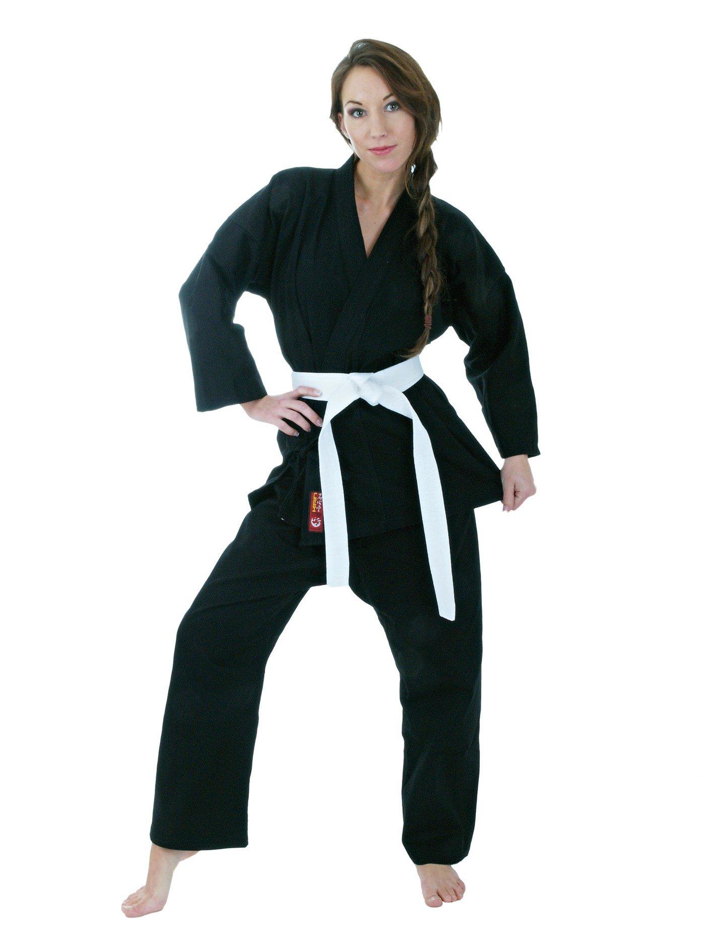 """Karatepak """"Kirin"""" Zwart"""