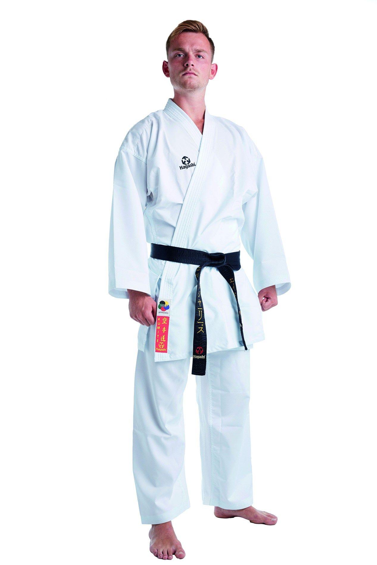 "Hayashi Karatepak ""KUMITE"" (WKF approved) Wit"