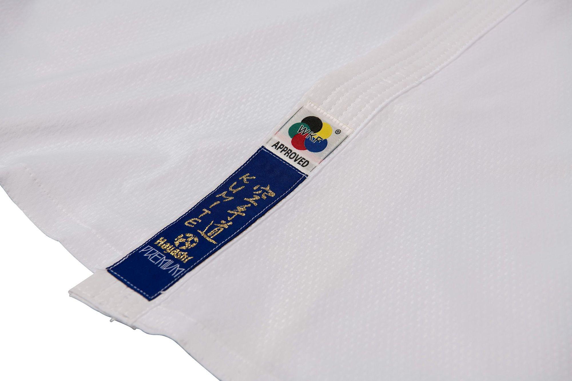 """Hayashi Karatepak """"Premium Kumite"""" Wit"""