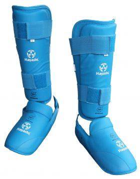 Karate Scheen/wreefbeschermer (WKF approved) Blauw