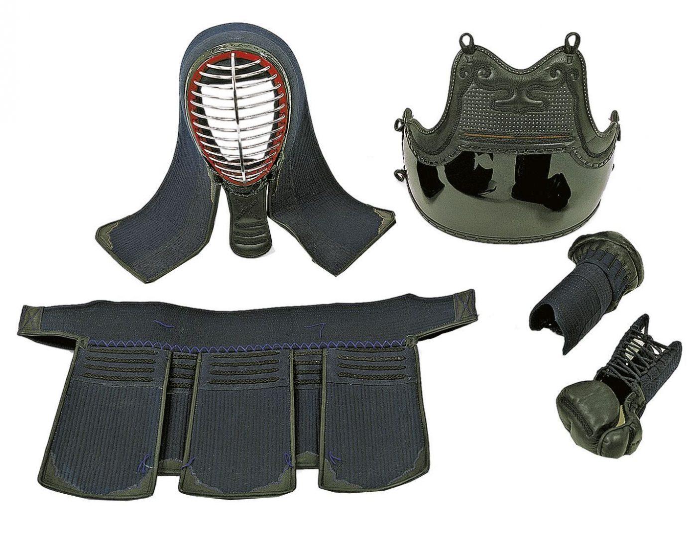 Hayashi Kendo Set met tas Blauw