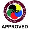 Hayashi Karate voetbeschermers (WKF approved) Blauw
