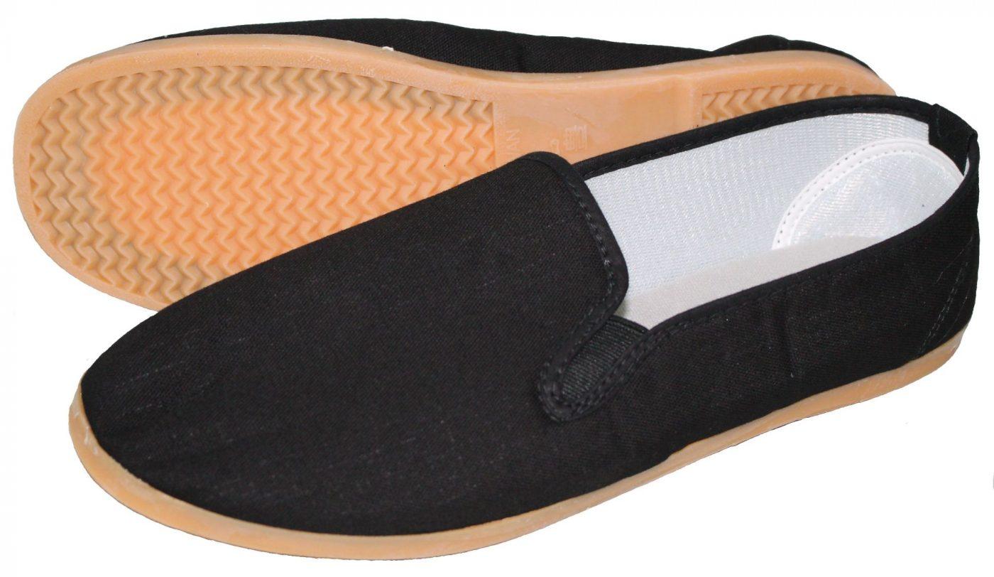 Hayashi Kung Fu schoenen Zwart
