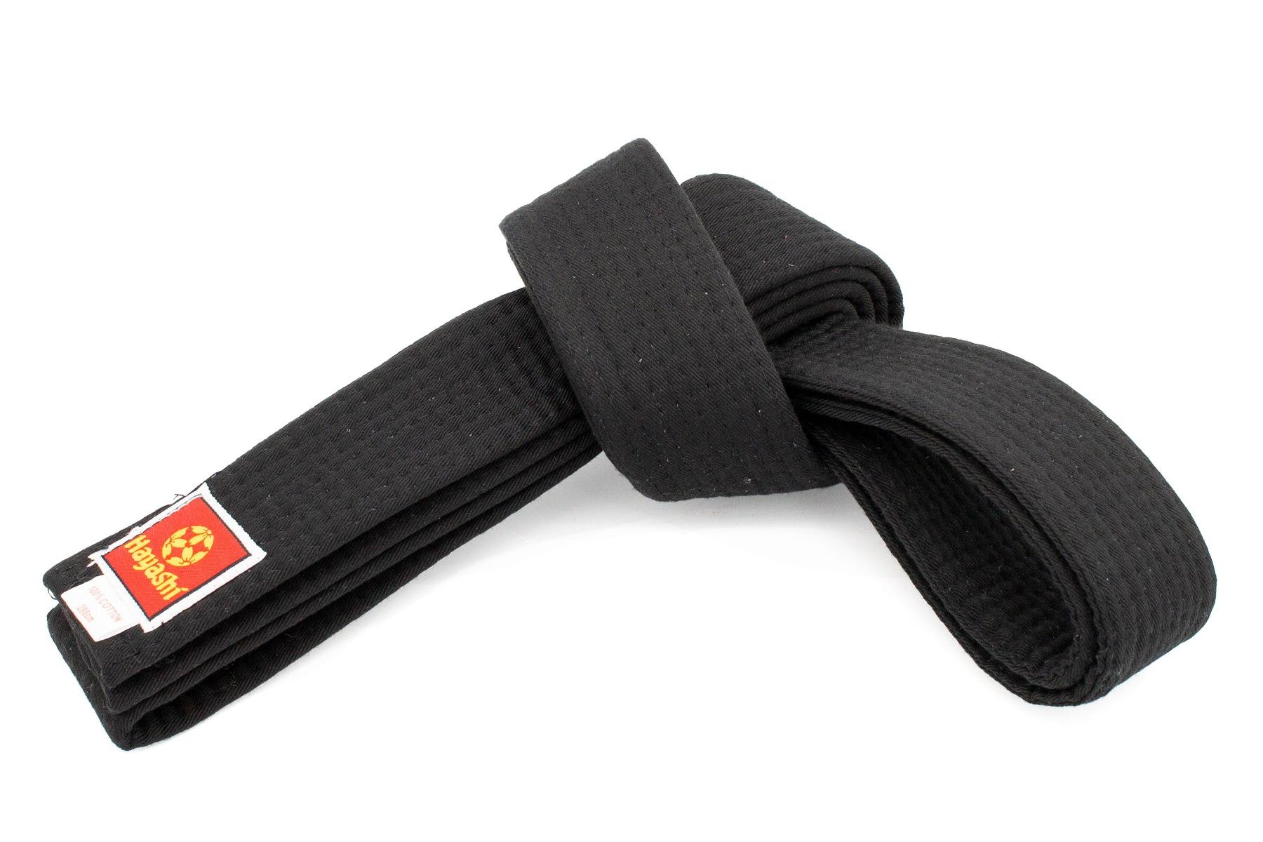 Hayashi Karateband Zwart