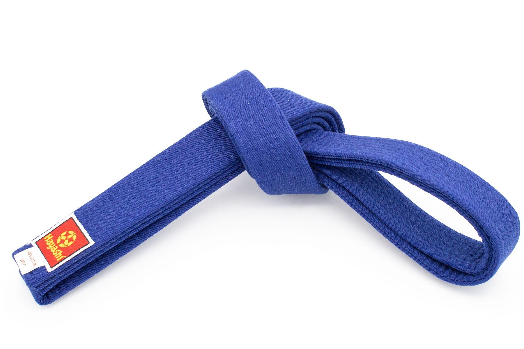 Hayashi Karateband Blauw