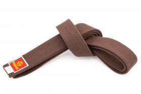 Karateband Bruin