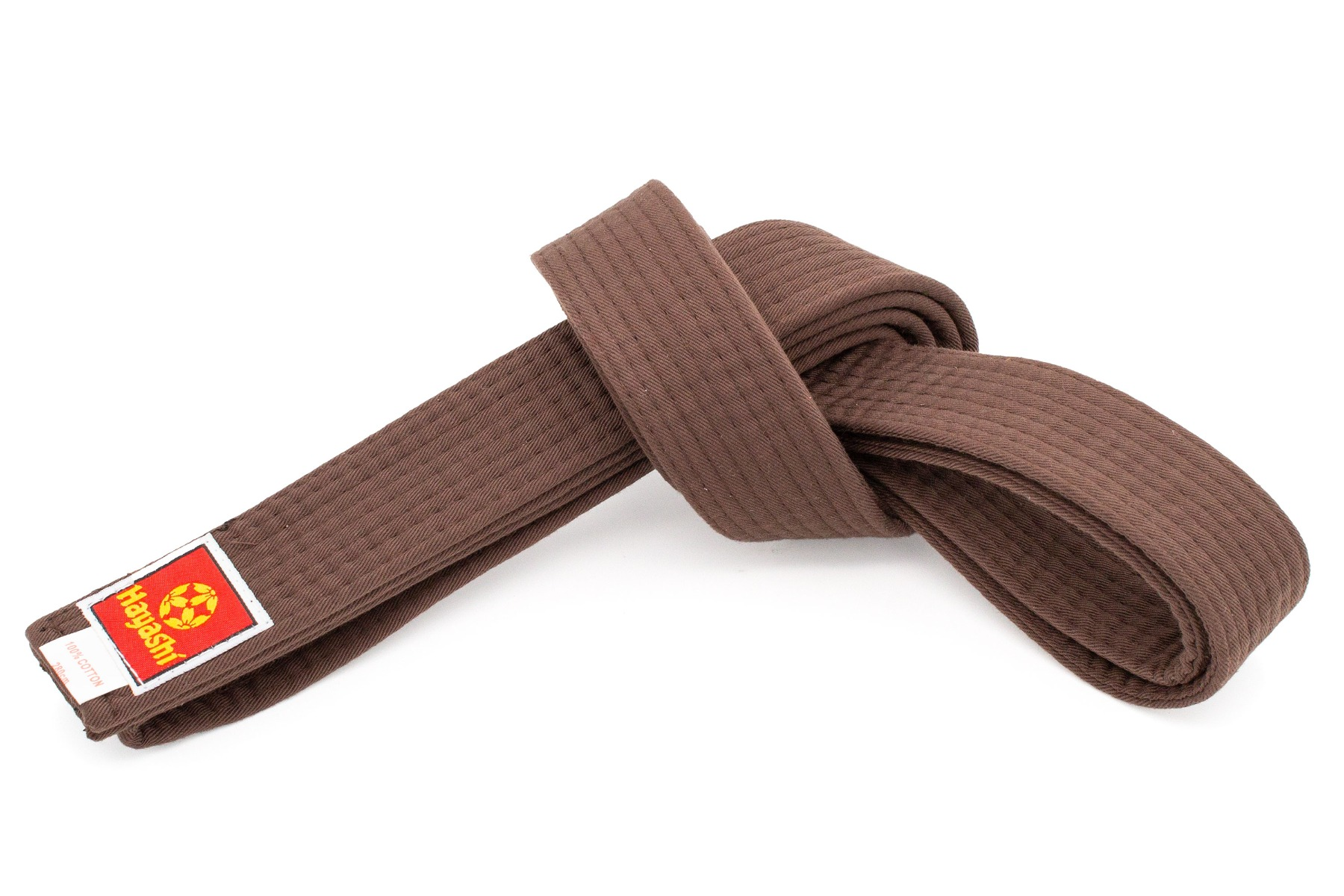 Hayashi Karateband Bruin
