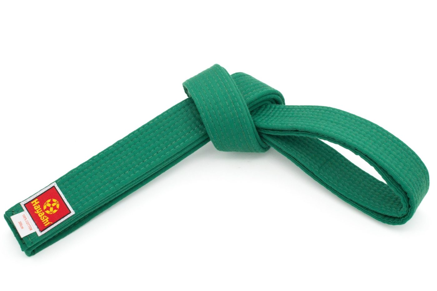 Hayashi Karateband Groen